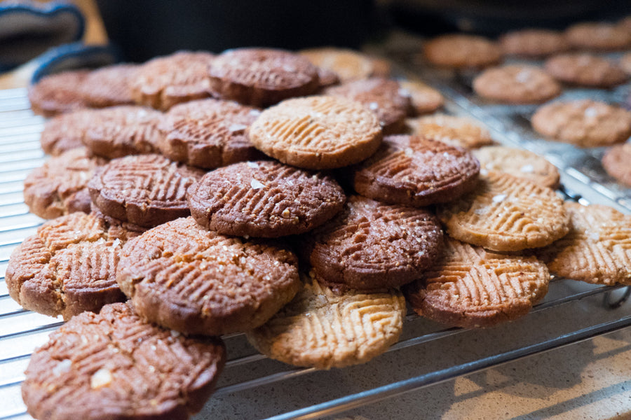 RBNB's Best Nut Butter Cookies