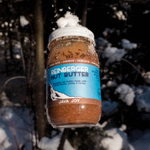 Load image into Gallery viewer, Java Joy all natural nut butter made with coffee and cocoa from Reinberger Nut Butter.
