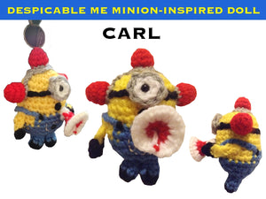 Despicable Me Minion-Inspired Doll - Carl