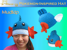 Load image into Gallery viewer, Mudkip-Inspired Hat