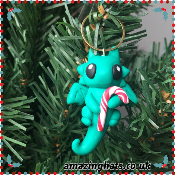 Candy Cane Dragon