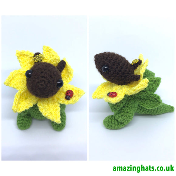 Yarnuary Sunflower Dragon