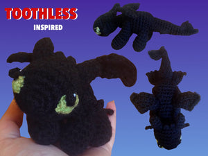 Toothless-Inspired Dragon