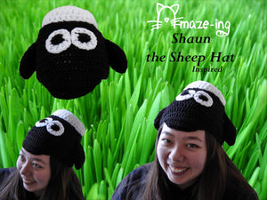Shaun the Sheep-Inspired Hat