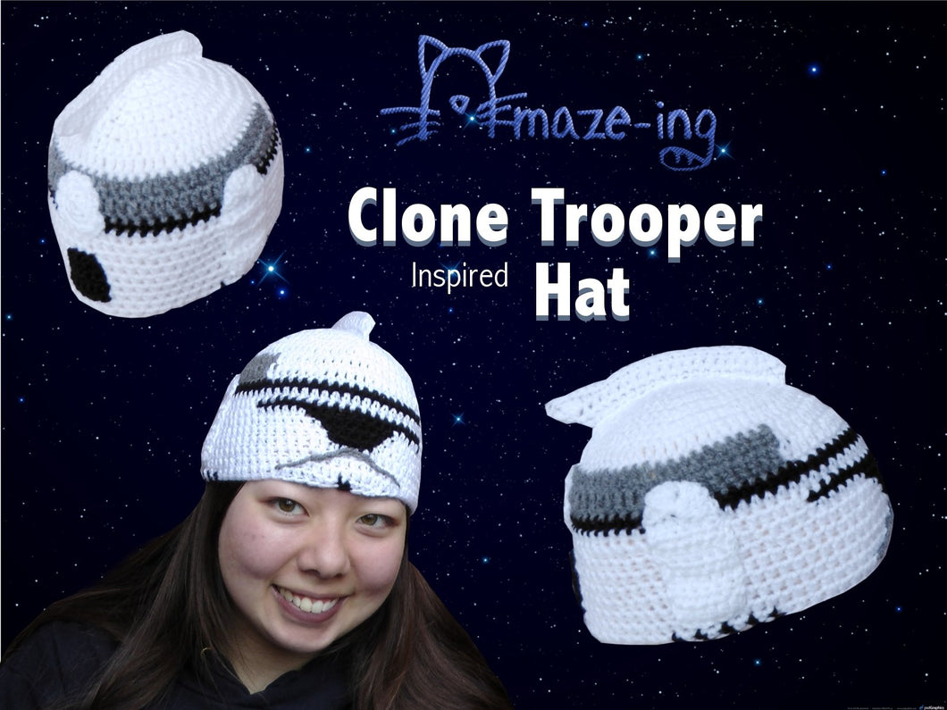 Clone Trooper-Inspired Hat