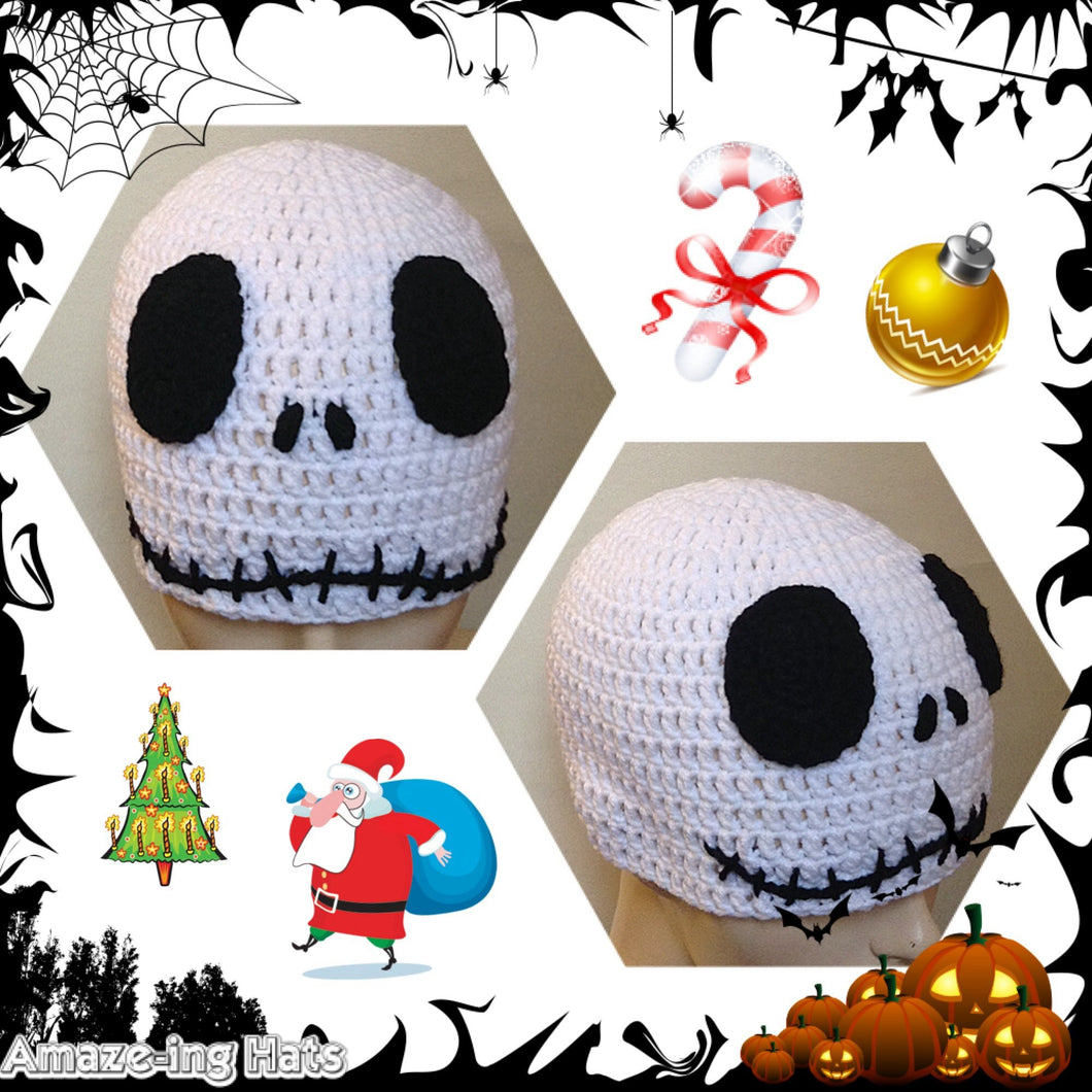 Jack Skellington-Inspired Hat