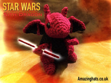 Load image into Gallery viewer, Sith Dragon w/Dual Lightsaber