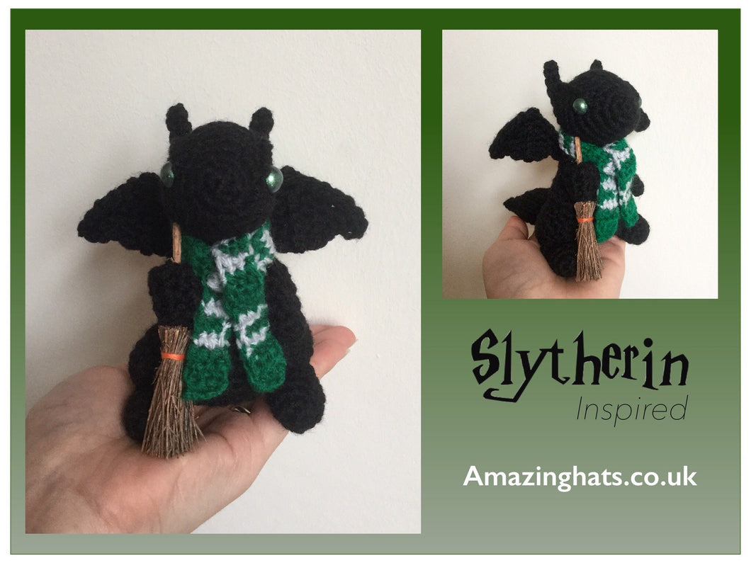 Witch or Wizard Dragon w/scarf