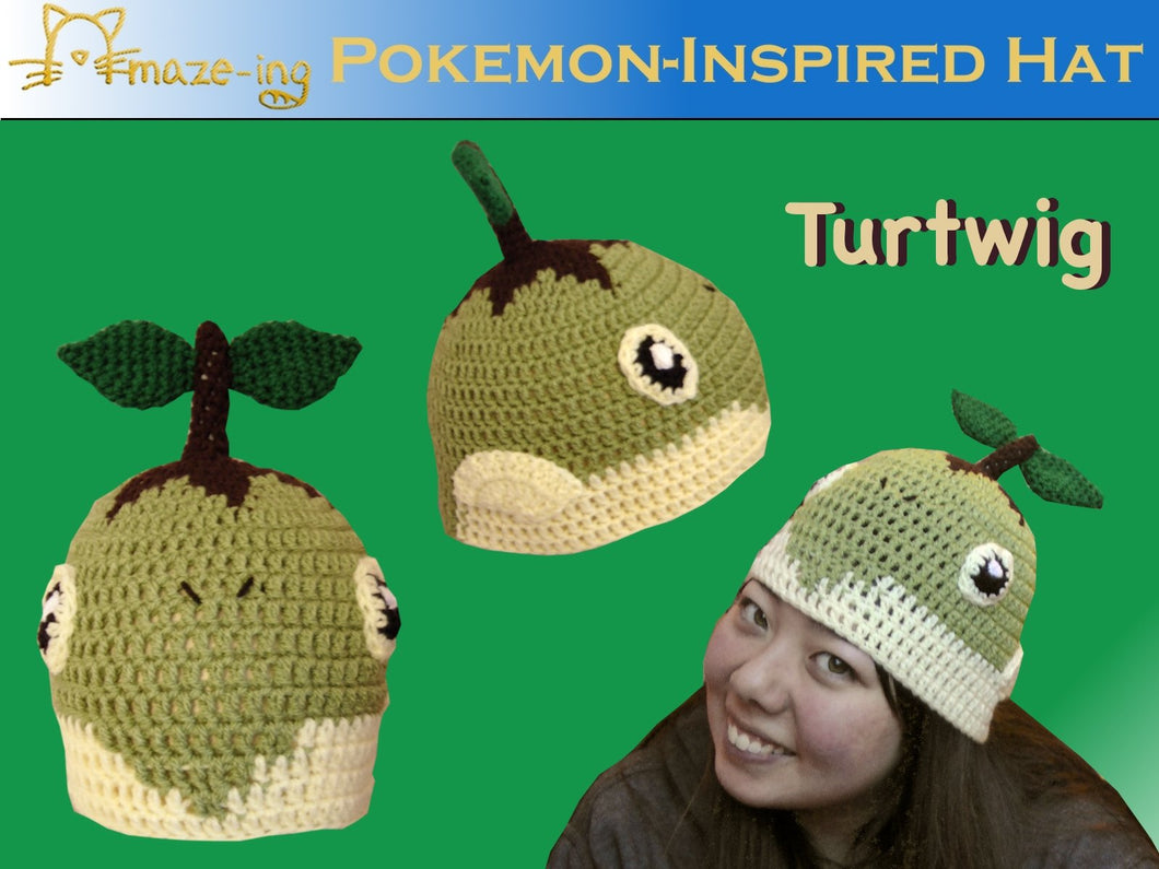 Turtwig-Inspired PDF Pattern
