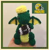 Small Customised Sports Team American Football Dragon