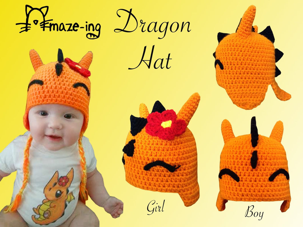 Baby Dragon Hat