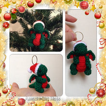 Load image into Gallery viewer, Tiny Dragon Christmas Tree Ornament