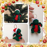 Tiny Dragon Christmas Tree Ornament