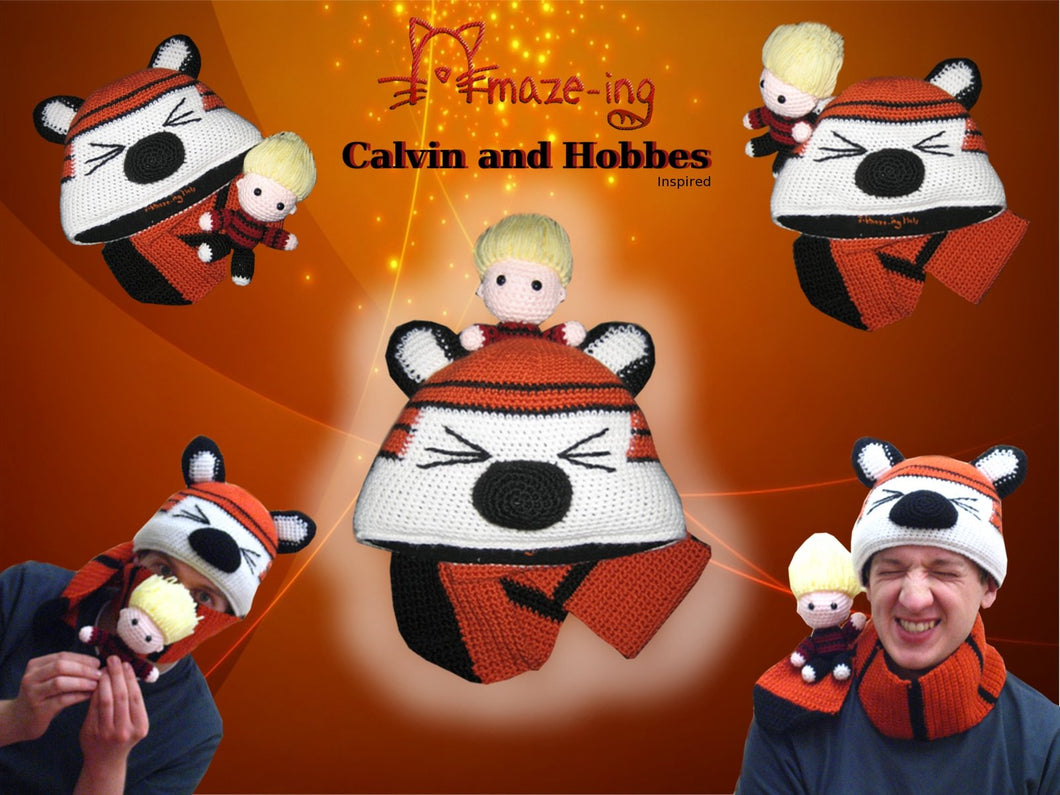 Calvin and Hobbes-Inspired Hat