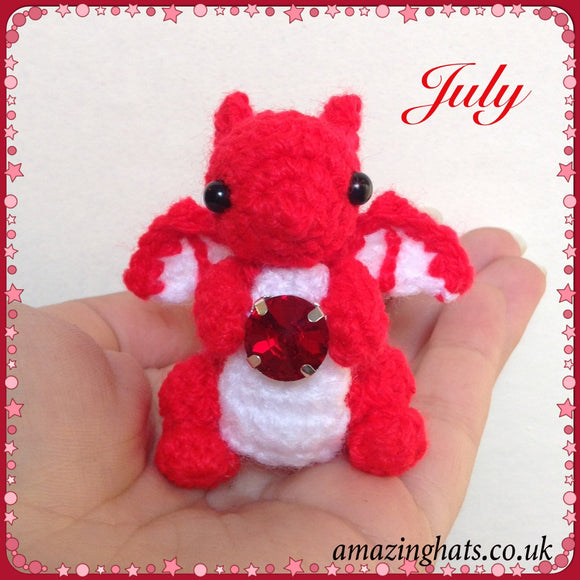 July Birthstone Dragon