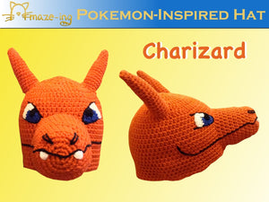 Charizard-Inspired Hat