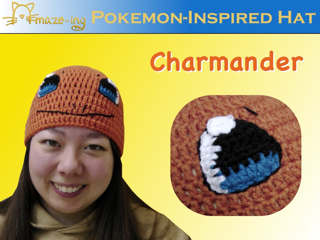 Charmander-Inspired Hat