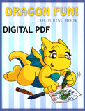 Digital Dragon Fun Colouring Book