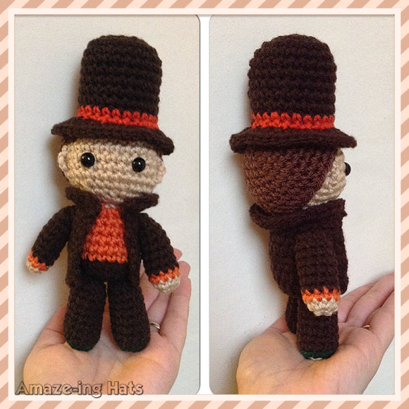 Professor Layton-Inspired Doll