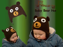 Load image into Gallery viewer, Baby Bear Hat