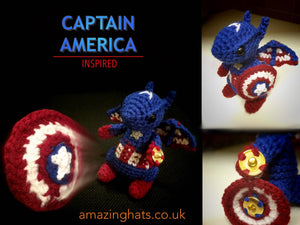 Captain America Dragon