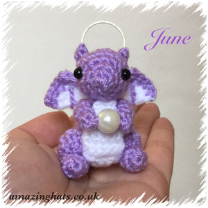 June Birthstone Dragon