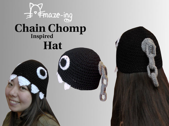 Chain Chomp-Inspired with Dangle Hat