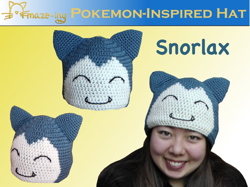 Snorlax-Inspired Hat