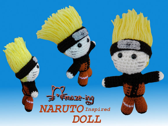 Naruto-Inspired Doll