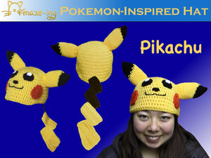 Pikachu-Inspired Hat