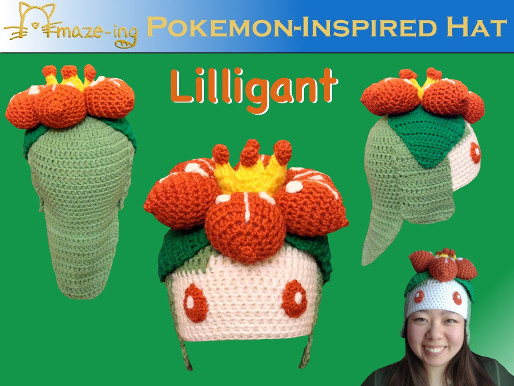 Lilligant-Inspired Hat
