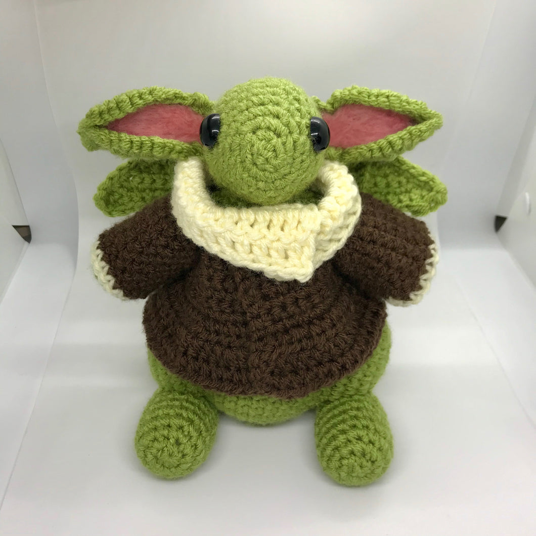 Cuddle Baby Yoda Dragon