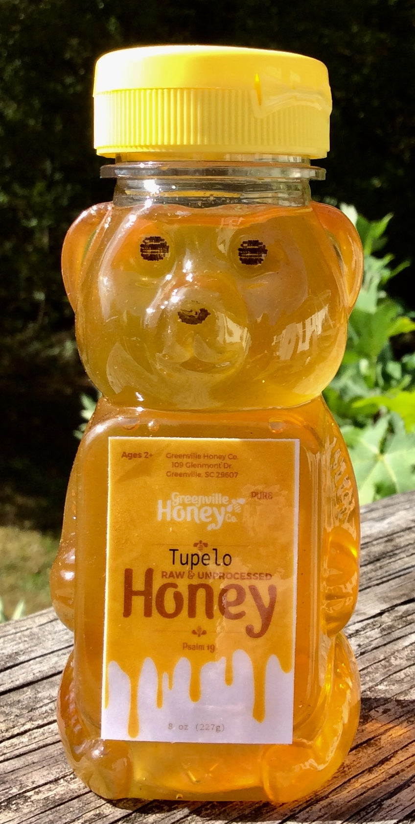 Tupelo Honey Bear 8 ozs.