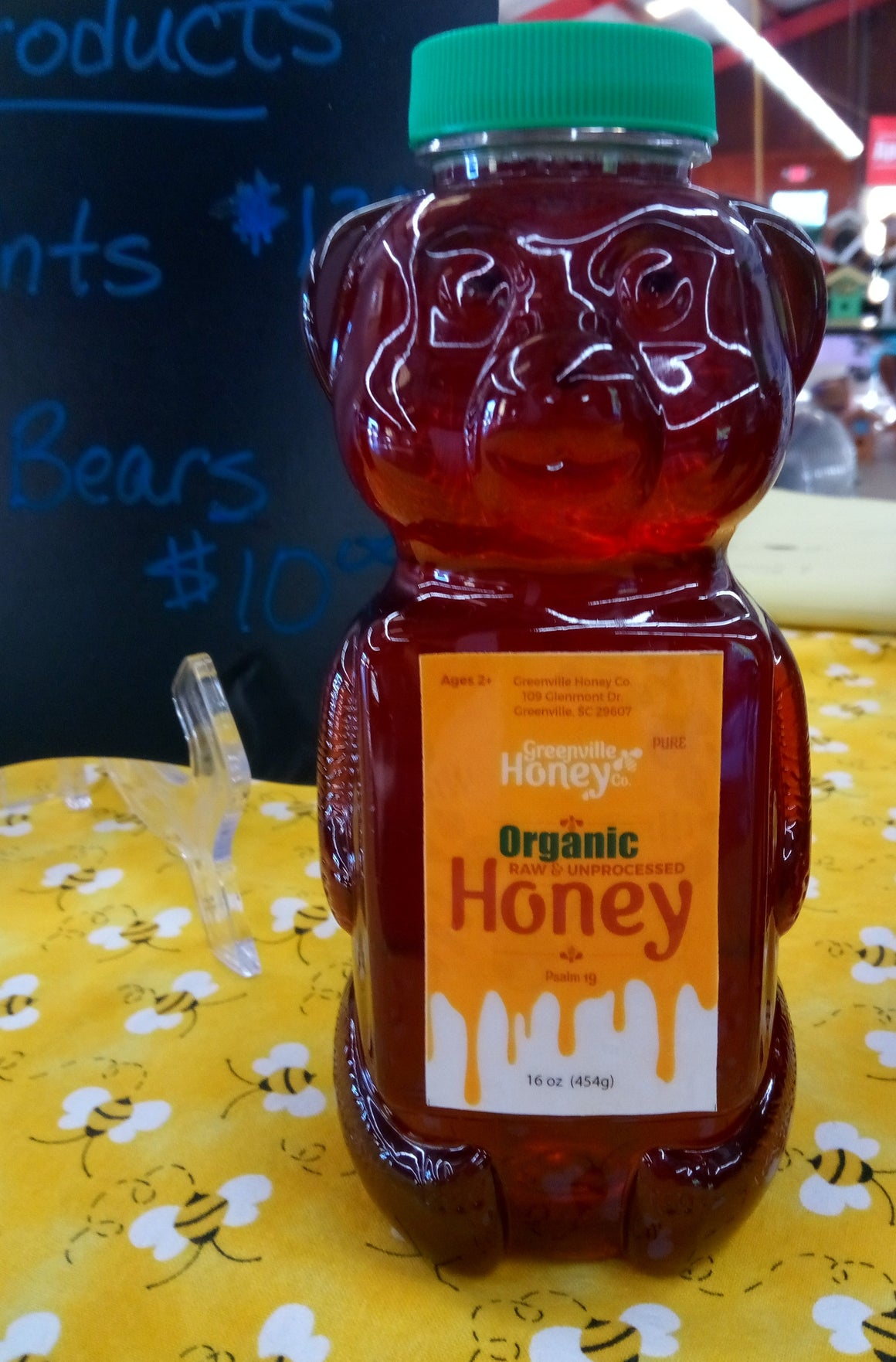 100% USDA Cert. Organic Honey 16 oz