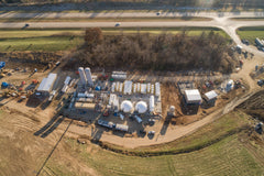 Dane County Biogas Facility Construction
