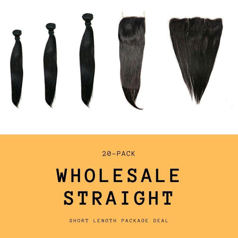 Brazilian Straight Short Length Package Deal - essencenoire