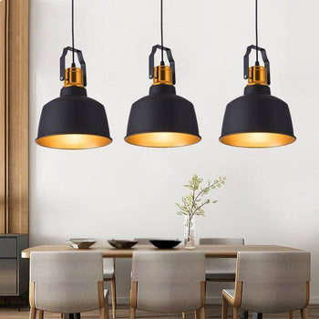 lustre industriel suspension nordique
