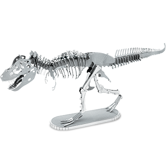 Tyrannosaurus Rex Skeleton - Metal Earth model kit