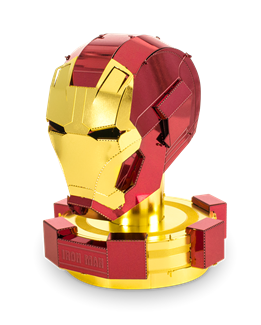Iron Man Helmet - Metal Earth model kit