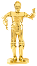"Load image into Gallery viewer, Star Wars ""C-3PO"" - Metal Earth model kit"