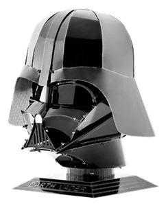 "Star Wars ""Darth Vader"" Helmet - Metal Earth model kit"