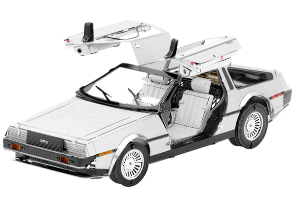 DeLorean - Metal Earth model kit