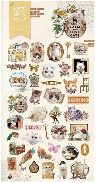 Lovely Cat Stickers