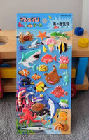 Sea Creatures Stickers