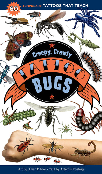 Creepy Crawly Tattoo Bugs