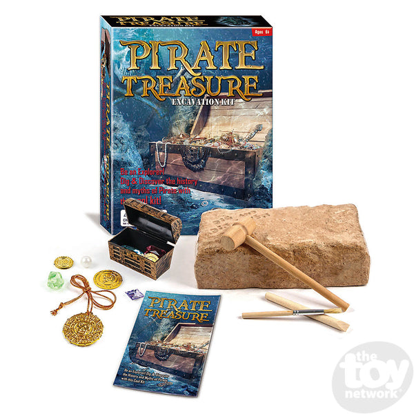 Pirate Treasure Chest Dig Kit