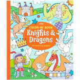 Knights & Dragons Coloring Book