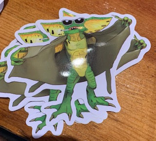 Gremlins Flasher Sticker