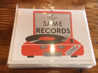 Same Records Vinyl Card