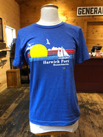 Harwich Port Sailboat - Blue Tee (unisex)